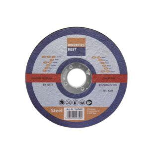 Vágókorong Fémre 125*3,0 - 5 db/cs
