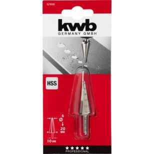 KWB profi hss kúpfúró 6-20 mm (525100)