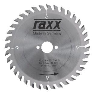 Raxx Kézi Körfűrészlap 190x2,8x30 - 40 fogas sűrű