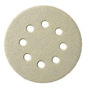 Csiszolópapír 125 mm K180 Tépőzáras Lyukas 5db/cs