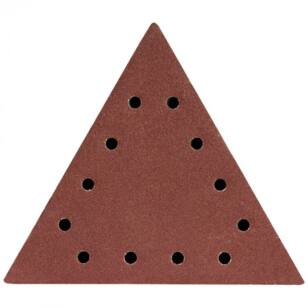 DEDRA Csiszolópapír háromszög alakú tépőzáras P80 5db (DED7749T1)