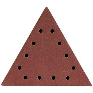 DEDRA Csiszolópapír háromszög alakú tépőzáras P120 5db (DED7749T3)