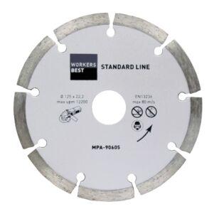 Gyémánt vágótárcsa 125 mm standard line