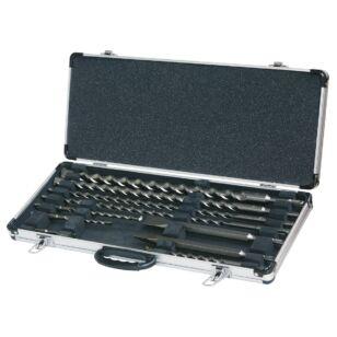 Fúró-és véső készlet SDS-Plus 10 db-os