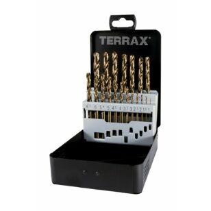 RUKO Terrax 1,0-10,0 19 db-os HSS-G Co 5 Fúrószár készlet