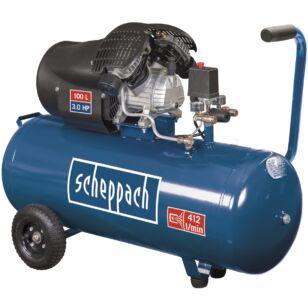 Scheppach HC 120 DC Olajkenéses Kompresszor 100l,10bar (5906120905)
