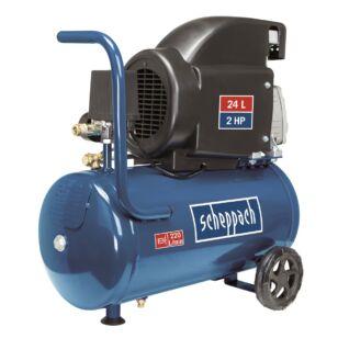 Scheppach HC 26 Olajkenésű kompresszor 24l, 1,5kW (5906135901)
