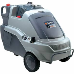 COMET KF Extra 10.22 forróvizes magasnyomású mosó 400 V, 210 bar, 1320 l/h, gőzborotva