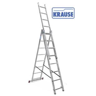 Krause CORDA 3x8 fokos sokcélú létra lépcsőfunkcióval (033383)
