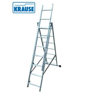 Krause CORDA 3*7 Fokos Alumínium Sokcélú létra