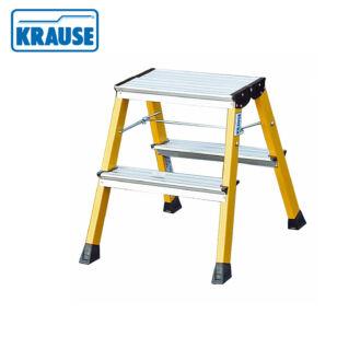 Krause MONTO Rolly 2*2 fokos összecsukható fellépő sárga (130044)