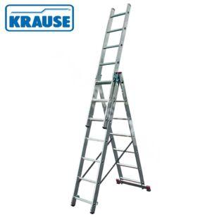 Krause CORDA 3x9 fokos sokcélú létra lépcsőfunkcióval (033390)
