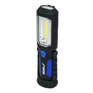 DEDRA L1022 Ledes szerelőlámpa szivargyújtós 3W+1W, 230v, 12v