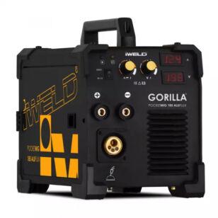 IWELD Gorilla PocketMig 185 ALUFLUX inverteres hegesztő