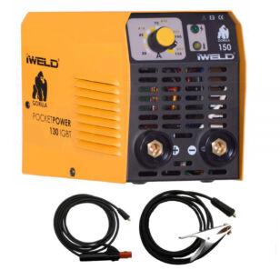 IWELD Gorilla Pocketpower 130 IGBT Inverteres hegesztő
