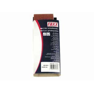 Raxx Csiszolószalag 75x533mm K80 3db/csomag TC-BS 8038
