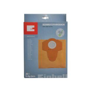 Einhell porzsák 20L 5db / csomag (2351152)