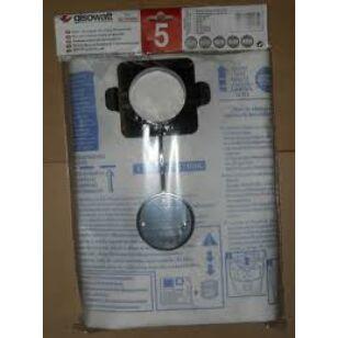 GISOWATT Porzsák 5 db / csomag 83140BOK