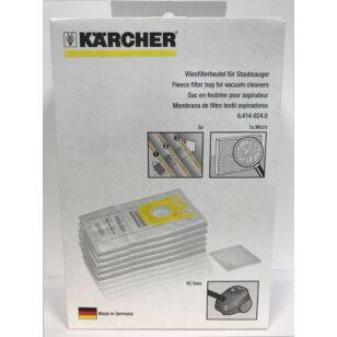 Karcher Porzsák 5 db/csomag (64148240)