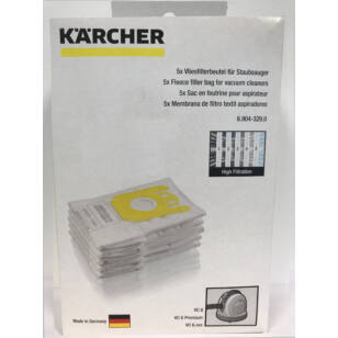 Karcher Gyapjú Porzsák 5 db/csomag (6.904-329.0)