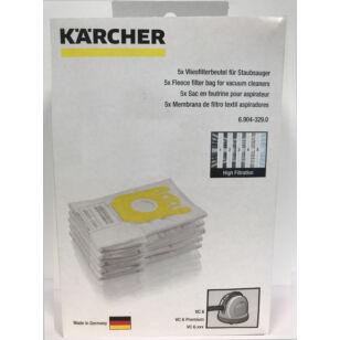 Karcher Gyapjú Porzsák 5 db/csomag (69043290)