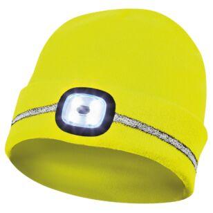 Gebol Sapka LED világítással és fényvisszaverő csíkkal Sárga
