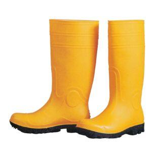 Munkavédelmi csizma sárga S5 45-ös