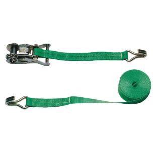 Feszítő heveder 2 r. 35mm/6m Vonóerő 2,0t, zöld
