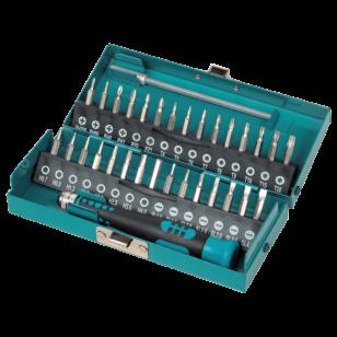 Wolfcraft Micro Bit Box 32 db-os PH/PZ/T/HEX/SL