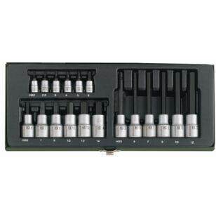 Proxxon 23100 Imbusz Készlet 18 részes 2-6mm
