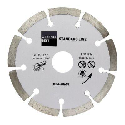 Gyémántvágótárcsa 115 mm standard line