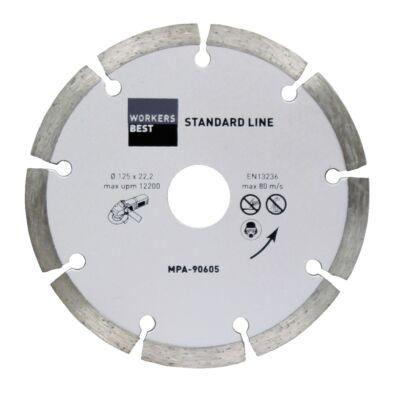 Gyémánt vágókorong Standard 125mm
