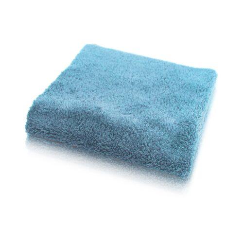 LOTUS Blue multi buffing towel kék extrapuha mikroszálas kendő