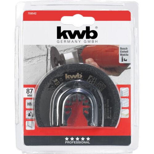KWB csempe és fuga tisztító félkör 87MM
