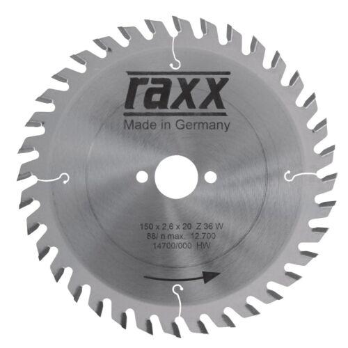 Raxx Kézi Körfűrészlap 190*2,8*30 - 40 fog sűrű