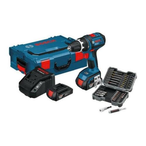 Bosch GSR 18V Li + 2x1,5Ah + bitkészlet + L-BOXX (0615990FC8)