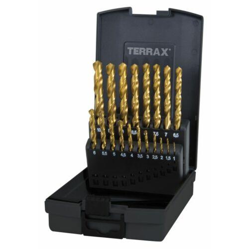 RUKO Terrax 1,0-10,0 19db HSS-G TiN Fúró Készlet