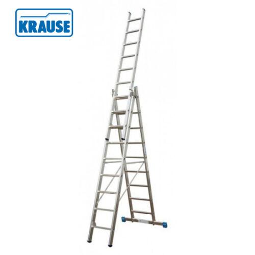 Krause CORDA 3*9 Fokos Alumínium Sokcélú létra