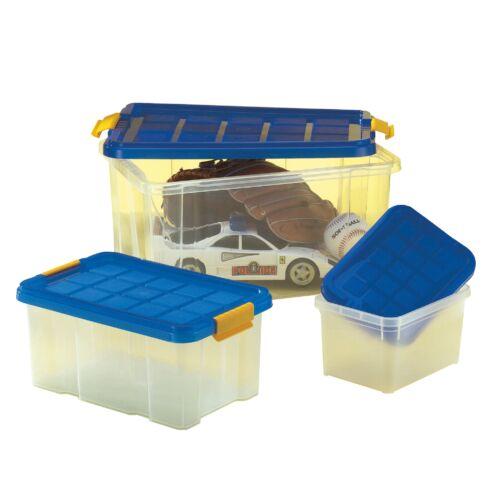 Tároló doboz készlet tetővel 3db-os