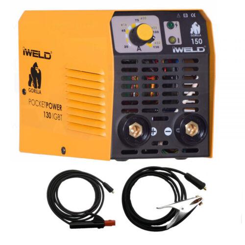 IWELD Gorilla Pocketpower 130 Inverteres hegesztő