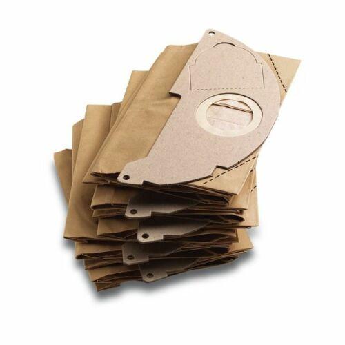 Karcher papírporzsák 5db/csomag