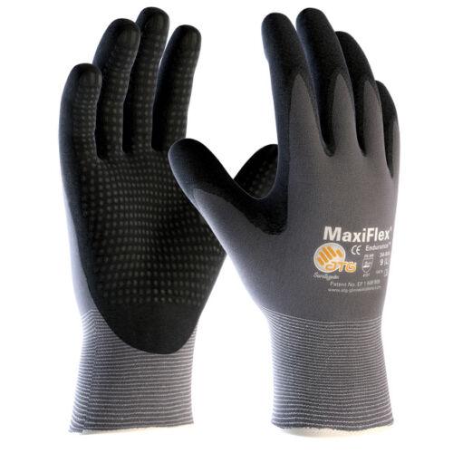 ATG Maxi Flex Plus tenyéren mártott precíziós védő/szerelő kesztyű
