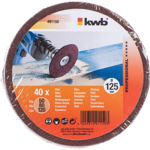 KWB Csiszolókorong készlet 40db