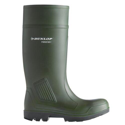 Dunlop Purofort S5 Munkavédelmi csizma 44 zöld