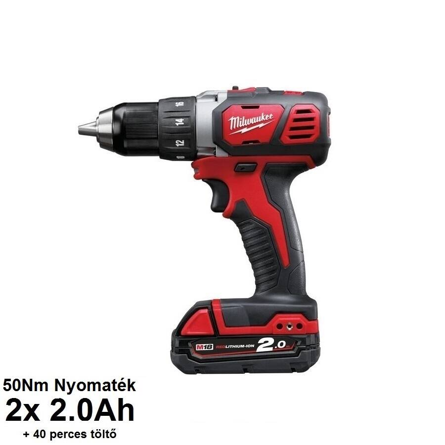 Milwaukee M18BDD-202C