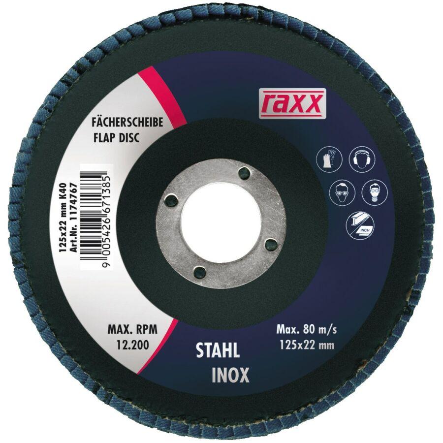 Raxx Legyezőtárcsa 125x22mm