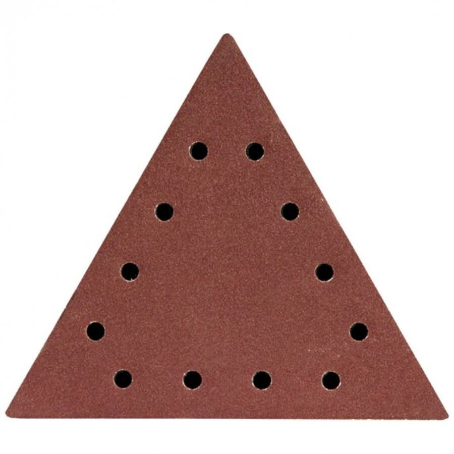 DEDRA Csiszolópapír háromszög alakú tépőzáras P60 5db (DED7749T0)