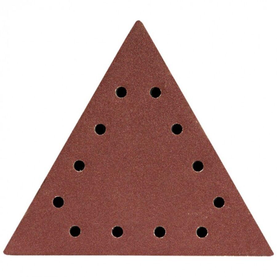 DEDRA Csiszolópapír háromszög alakú tépőzáras P150 5db (DED7749T4)