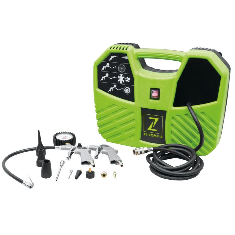 ZIPPER ZI-COM2-8 HORDOZHATÓ KOMPRESSZOR 1,1KW
