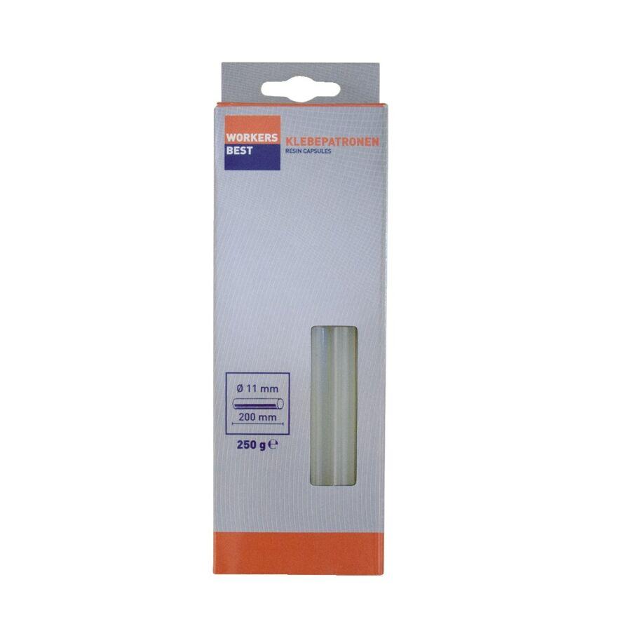 Ragasztópatron 11x200 mm fehér, 250g, bliszteres